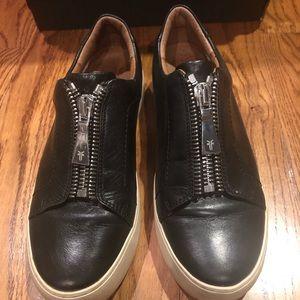 Frye women's zip sneakers sz 7.5